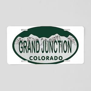 Grand Junction Colo License Plate Aluminum License