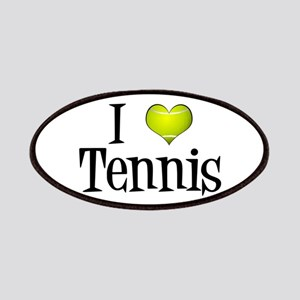 I Heart Tennis Patches