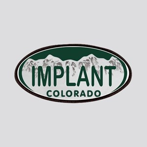 Implant Colo License Plate Patches