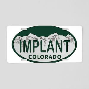 Implant Colo License Plate Aluminum License Plate