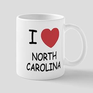 I heart north carolina Mug