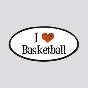 I Heart Basketball Patches