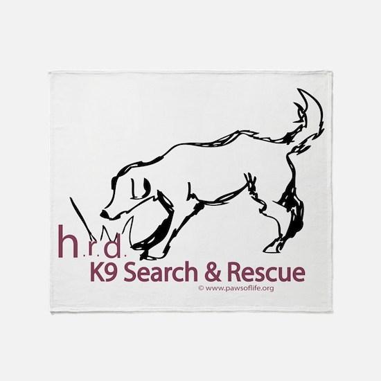HRD Sketches Throw Blanket