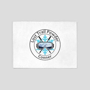 Lost Trail Powder Mountain - Conn 5'x7'Area Rug