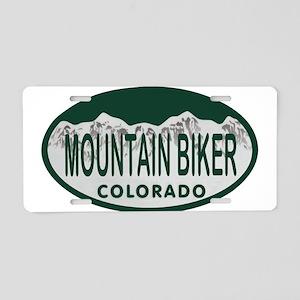 Mountan Biker Colo License Plate Aluminum License