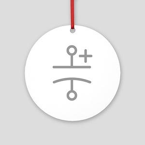 Electolytic Capacitor Ornament (Round)