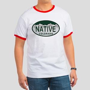 Native Colo License Plate Ringer T