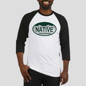 Native Colo License Plate Baseball Jersey