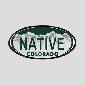 Native Colo License Plate Patches