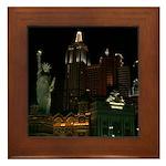 New York, New York Framed Tile