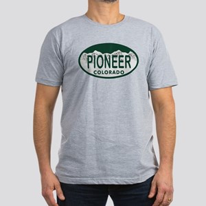 Pioneer Colo License Plate Men's Fitted T-Shirt (d