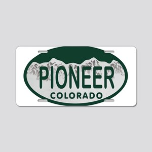 Pioneer Colo License Plate Aluminum License Plate