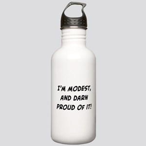 modest and darn proud Stainless Water Bottle 1.0L