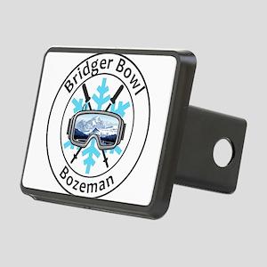 Bridger Bowl - Bozeman - Rectangular Hitch Cover