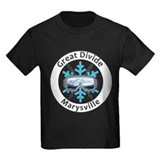 Great divide ski area Kids T-shirts (Dark)