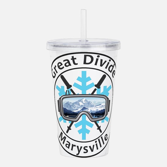 Great Divide - Marys Acrylic Double-wall Tumbler
