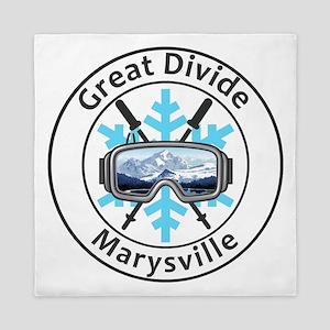 Great Divide - Marysville - Montana Queen Duvet