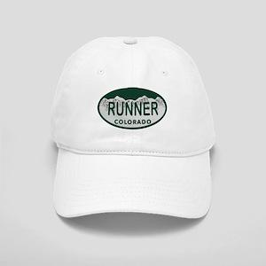 Runner Colo License Plate Cap