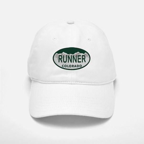 Runner Colo License Plate Baseball Baseball Cap