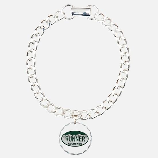 Runner Colo License Plate Bracelet