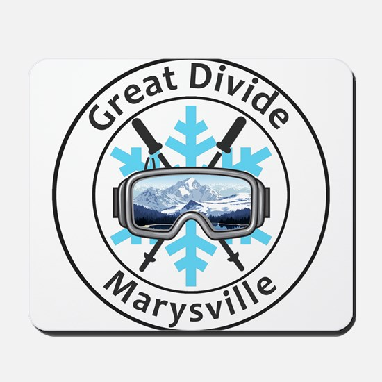 Great Divide - Marysville - Montana Mousepad