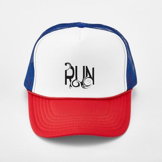 Unique RUN Trucker Hat