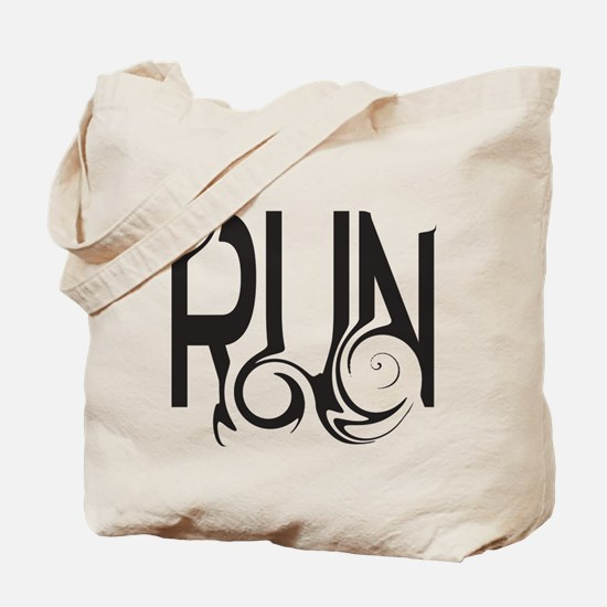 Unique RUN Tote Bag