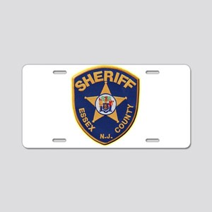 Essex County Sheriff Aluminum License Plate