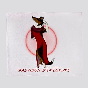 Fashion Statement Throw Blanket