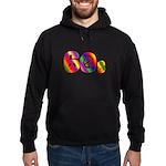 60s PEACE SIGN Hoodie (dark)