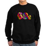 60s PEACE SIGN Sweatshirt (dark)