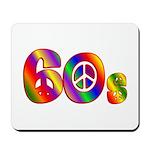 60s PEACE SIGN Mousepad
