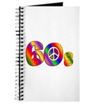 60s PEACE SIGN Journal