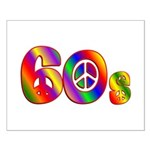60s PEACE SIGN Small Poster