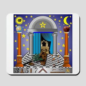 King Solomon's Temple Mousepad