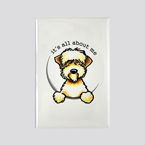 Funny Wheaten Terrier Rectangle Magnet