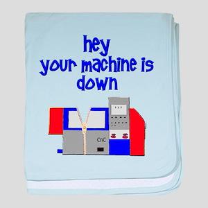 machinist baby blanket
