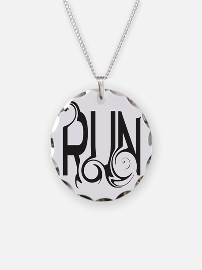 Unique RUN Necklace