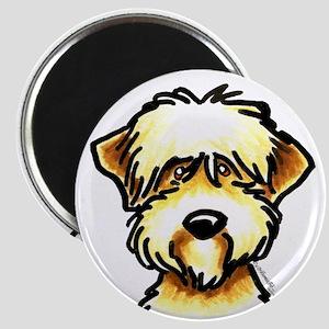 Funny Wheaten Terrier Magnet
