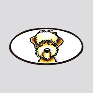 Funny Wheaten Terrier Patches