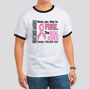 Yes They're Fake Breast Cancer Ringer T