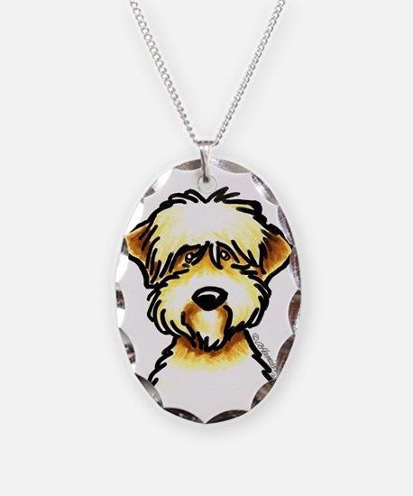 Funny Wheaten Terrier Necklace