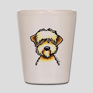 Funny Wheaten Terrier Shot Glass