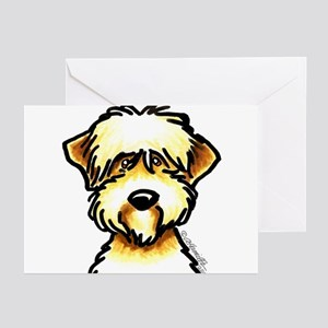 Funny Wheaten Terrier Greeting Cards (Pk of 10)