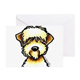 Wheaten terrier dad Greeting Cards (10 Pack)