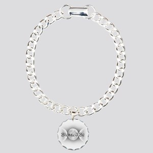 Blessed Be (triple crescent) Charm Bracelet, One C