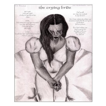 The Crying Bride Small Poster