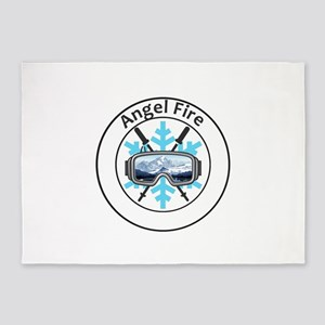 Angel Fire Resort - Angel Fire - 5'x7'Area Rug