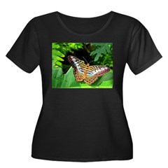 Butterfly on Green Foliage T