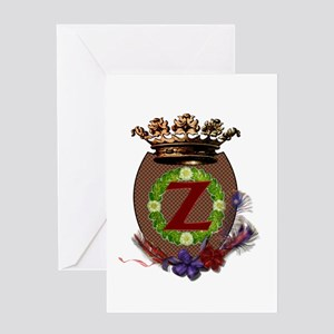 Z Crest Greeting Card